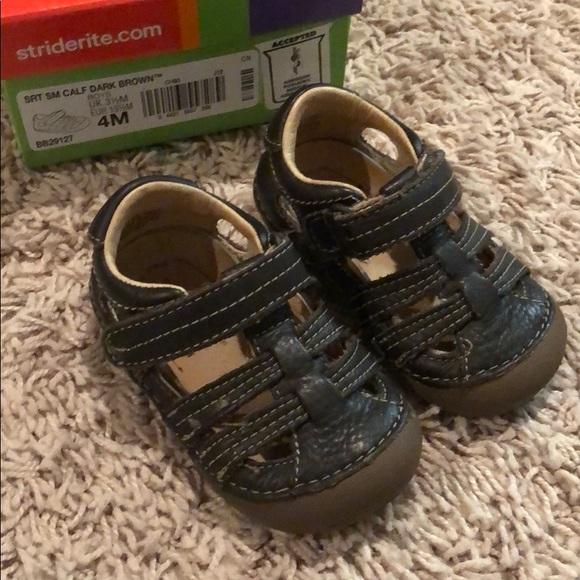 Toddler Boys/' Surprize by Stride Rite Josh Hiking Sandals Light Up Blue Sz 9
